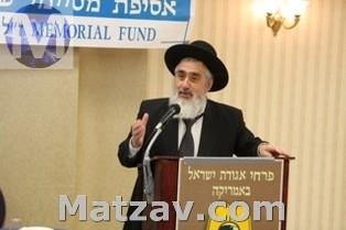 Rav Eliezer Ginsberg speaking.