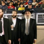 Rabbi Don Yoel Levy (R) of the OK.