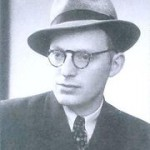 Rav Shneur Kotler in his younger years.