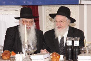 Rav Yosef Savitsky and Rav Yisroel Belsky