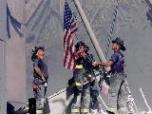 9-11-firemen-flag