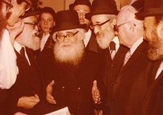 "With Rav Shach zt""l"