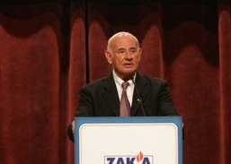 Keynote speaker Yaacov Perry