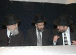 R. Dov Lipschitz (left) with R. Yehuda Deri (right)
