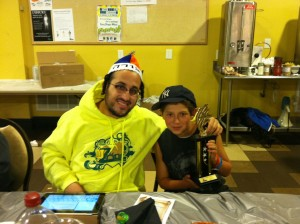 Lipa and his new Oorah Torahmate Josh Cohen