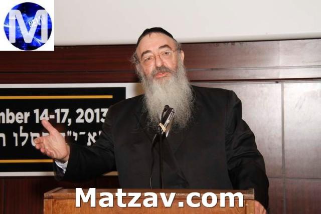 Rav Mordechai Twerski, Rav, Congregation Ateres Shloime, Hornsteipler Rebbe