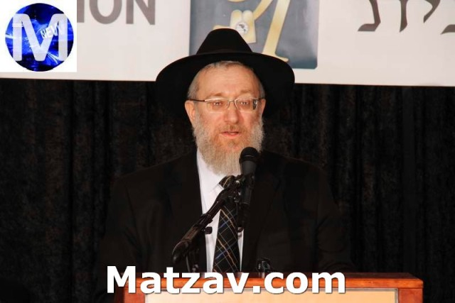 Rabbi Labish Becker, Executive Director, Agudath Israel of America