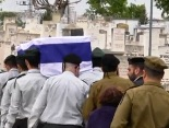 funeral for 21-year-old IDF Captain Tal Nachman.