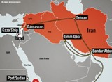 iran-weapons-shipment-path-idf