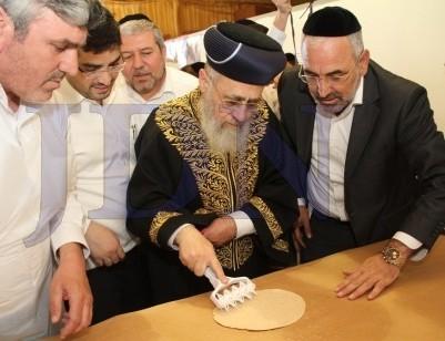 matzos-rav-yitzchok-yosef