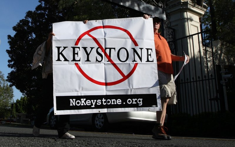 on the issue of the keystone xl The keystone xl pipeline route would go through most of the remaining locations of the swift fox, a tiny canid about the size of a house cat the us state department's environmental impact.