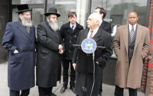 assemblyman-lentol-announcing-the-introduction-of-the-bill-at-the-ujo-in-march-with-senator-squadron-borough-president-eric-adams-councilman-stephen-levin-and-rabbi-david-niederman