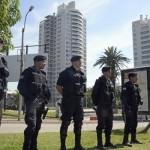 URUGUAY-POLICE-DEVICE