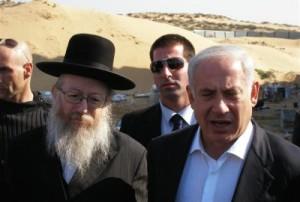 litzman-netanyahu