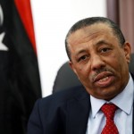 Libyan Prime Minister Abdullah al-Thinni