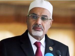 Libyan leader Mohamed Magariaf