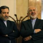 ranian Foreign Minister Javad Zarif and Abbas Araghchi