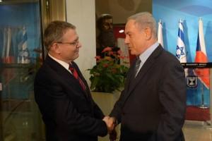 Czech Republic Foreign Minister Lubomir Zaoralek netanyahu