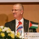 Assaf Shilo/Israel Sun 07-12-2013 Dutch Prime Minister Rutte in Bethlehem