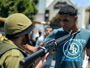 idf soldier palestinian