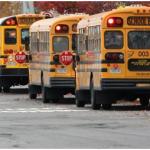passing school bus