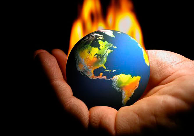 the cataclysmic effect of global warming in the environment