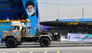 Iranian Khalij Fars missile