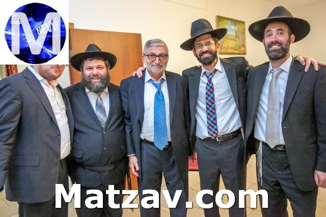 Rabbi Aron Sonenshein harry mayer Rabbi Motti Rapoport and  Rabbi sroy levitansky in camp