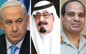 netanyahu sisi saudi