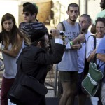 An Orthodox Jewish assailant stabs participants at an annual gay pride parade, wounding six, in Jerusalem on Thursday, police and witnesses said