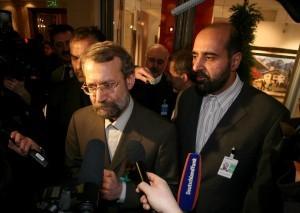 Iranian Parliament Speaker Ali Larijani