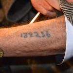 Tatuerat fångnummer
