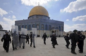 temple mount clashes