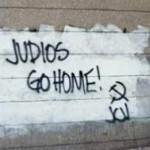 Antisemitic graffiti