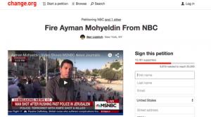 MSNBC reporter Ayman Mohyeldin