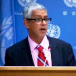 U.N. Secretary General Deputy Spokesman Farhan Haq