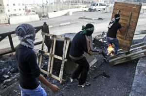 palestinian firebombs