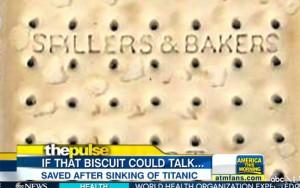 titanic cracker