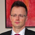 Hungarian Foreign Minister Péter Szijjártó