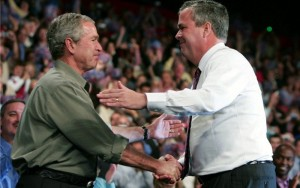 george w bush jeb bush