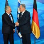 German President Joachim Gauck netanyahu