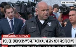 Police Chief Jarrod Burguan