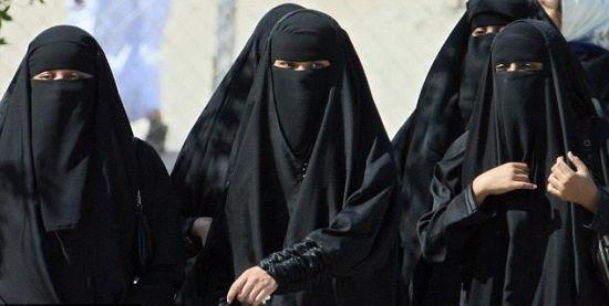 saudi women burqa