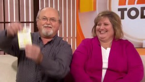 Lottery winners John and Lisa Robinson