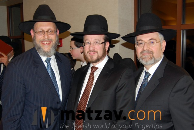 Rabbi Drazin, Rabbi Dessler, Mr. Heifetz