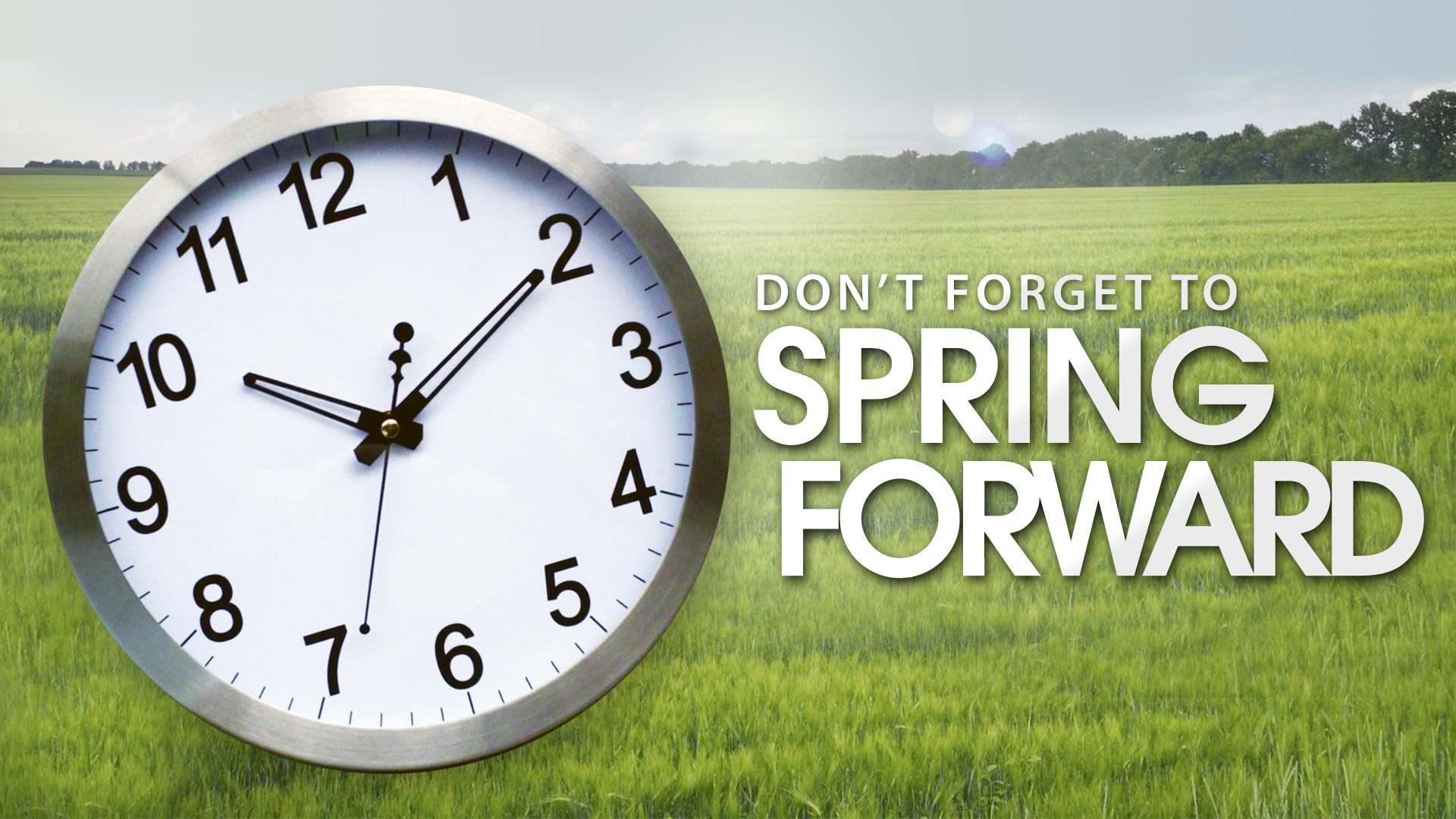 Spring Forward One Hour | Matzav.com
