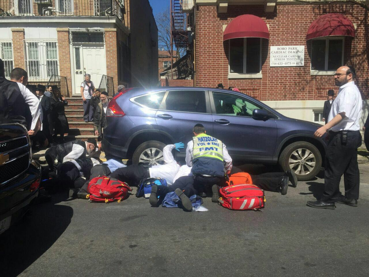 Child Hit By Car In Boro Park