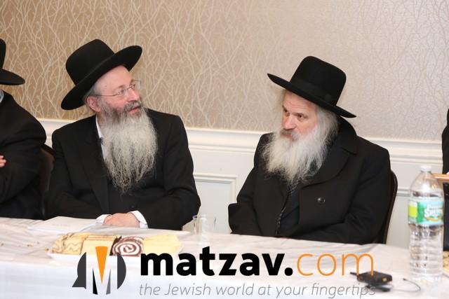 Photos: BMG Roshei Yeshiva Welcome Rav Shmuel Markowitz to ...