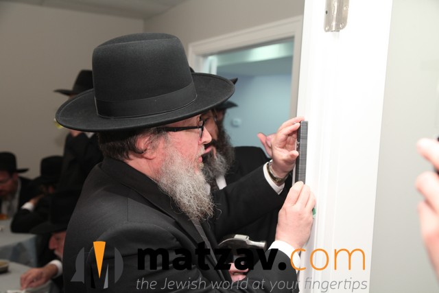 Harav Chaim Weg Rosh Kollel at the Bais HaVaad - Copy