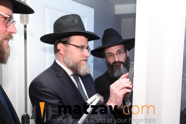 Harav Mordechai Fuchs and Rasv Shmuel Wilhelm